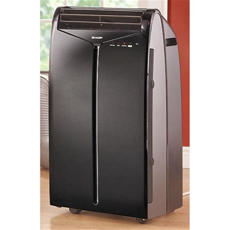 Ac Sharp sharp 174 10 000 btu portable air conditioner with remote 208485 air conditioners fans at