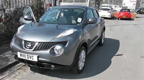 grey nissan juke wv11dvc used nissan juke acenta premium in grey at wessex