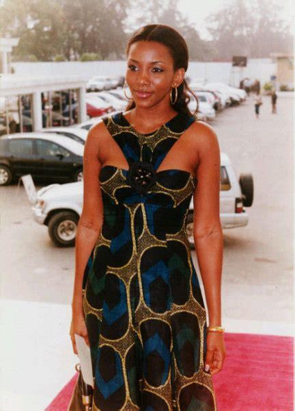 pictures of all nigerian celebrities new styles of ponytail hair genevieve nnaji always on point celebrities nigeria