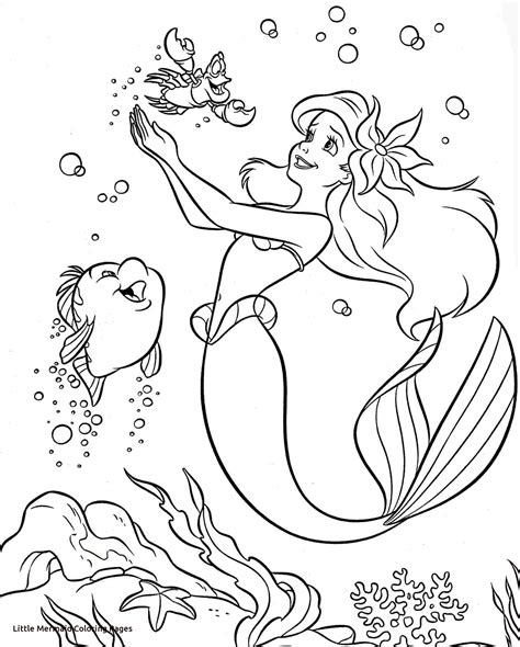 Full Size Disney Printable Coloring Pages | colouring pages coloring disney princess little mermaid