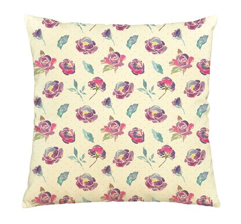 Cotton Throw Pillow Covers by Beautiful Flowers 100 Cotton Decorative Throw Pillow