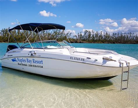 deck boat rentals naples fl marinas in naples fl boater s paradise naples bay resort