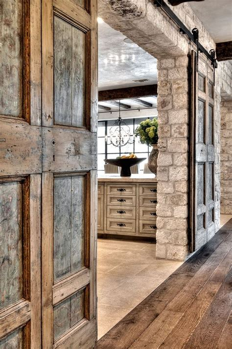 Rustic Gorgeousness Charisma Design Notice The Sliding Rustic Sliding Barn Doors
