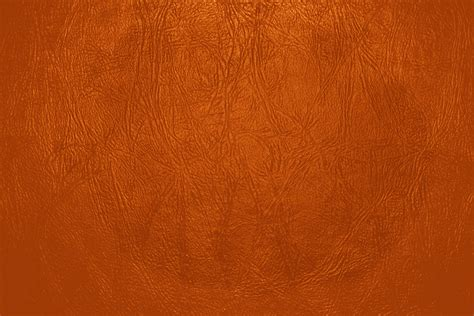 Orange Leather by Orange Leather Up Texture Picture Free Photograph