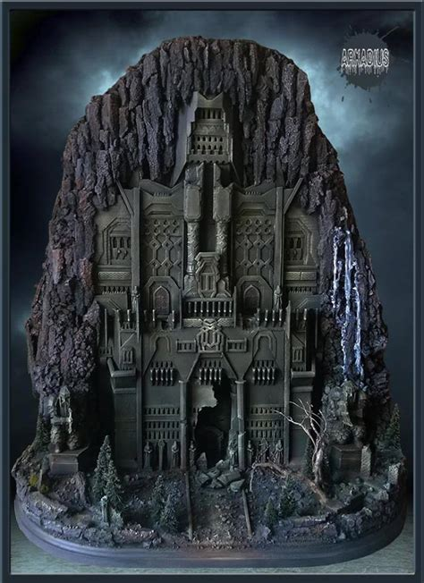 Army Decor Explore The Hidden Pass With The Gate Of Erebor Diorama