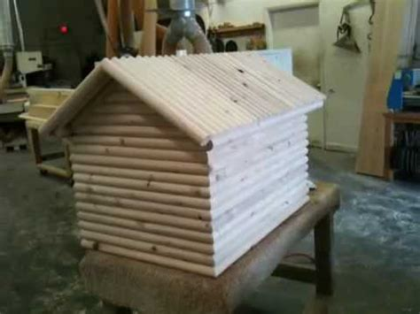 how to build a log cabin dog house hqdefault jpg