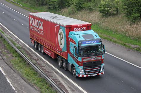 psl volvo fh pollock scotrans  pollock scotrans  volvo vehicles trucks