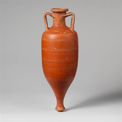 terracotta amphora storage jar roman early imperial