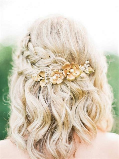 Half Up Half Wedding Hairstyles For Length Hair by 10 Wedding Hairstyles For Medium Length Hair Page
