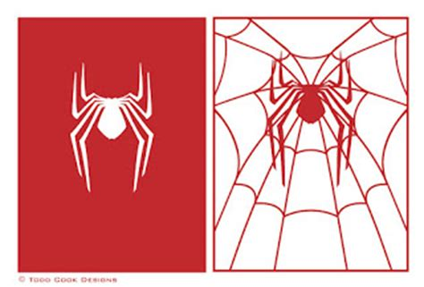 spiderman 3 stencil cake ideas and designs