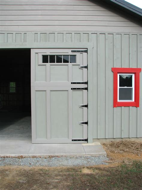 swing out door how to build barn or garage swing out doors youtube