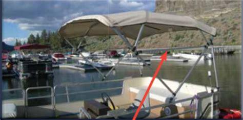 pontoon bimini top light square tube pontoon bimini top