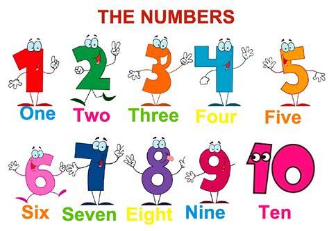 dibujos infantiles ingles aprendamos los n 250 meros en ingl 233 s con dibujos y letras
