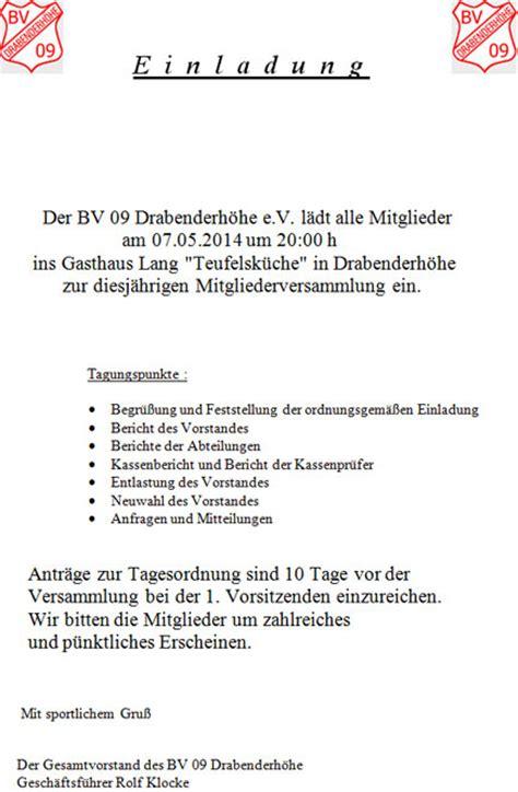 Einladung Mitgliederversammlung Muster Einladung Jubilaum Muster Ledeclairage Net