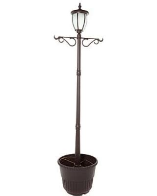 bargains  fieldsmith solar powered lamp post light
