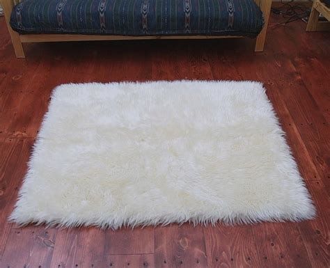 Large Fur Rugs by Faux Fur Area Rug Ivory Large Other