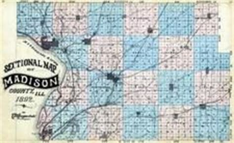 madison county 1892 illinois historical atlas