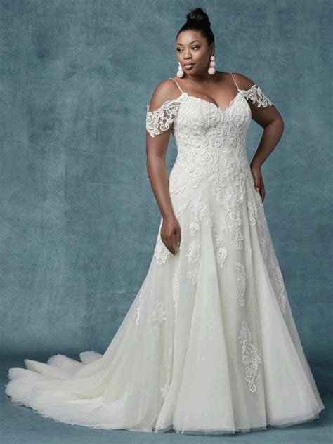 sorrento lynette maggie sottero fit  flare soft skirt