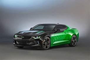 2016 chevrolet camaro krypton concept sema 2015 gm