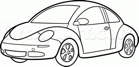 punch buggy car drawing how to draw a vw beetle volkswagen beetle by