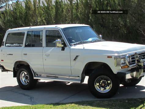 1990 Toyota Land Cruiser 1990 Toyota Land Cruiser 4wd With Winch