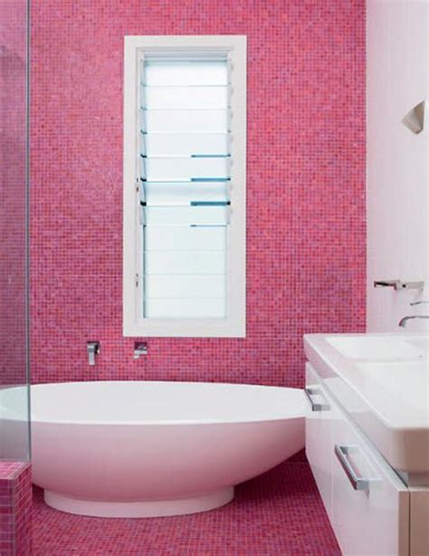 pink tile bathroom ideas 33 pink mosaic bathroom tiles ideas and pictures