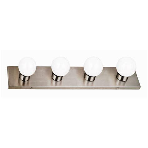 design house vanity lighting design house 4 light satin nickel vanity light 519298