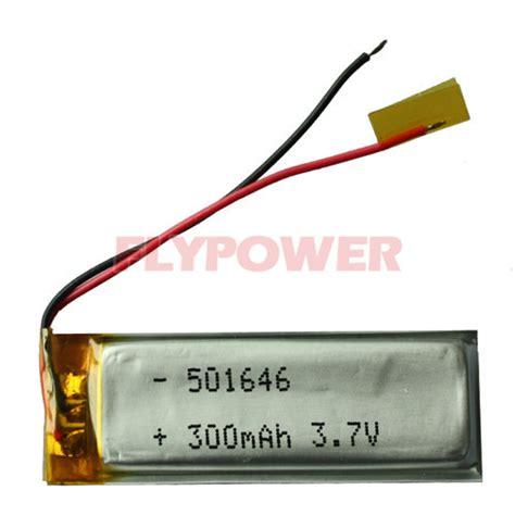 Battery Li Ion 3 7v 300mah buy 3 7v 300mah lithium ion polymer battery pack 1s1p of