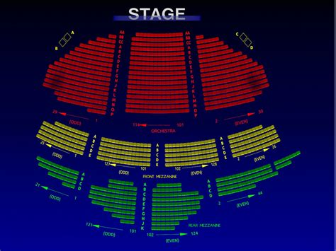 ambassador theater seating chart ambassador theater seating chart ambassadors theatre