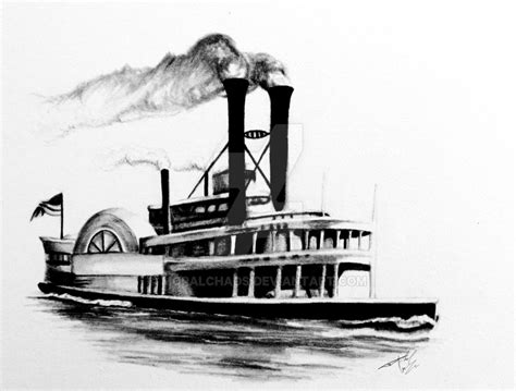 steam boat drawing www imgkid the image kid has it - Steam Boat Drawing