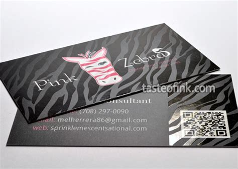Business Card Pink Zebra Silk Cards Pink Zebra Business Card Template Free