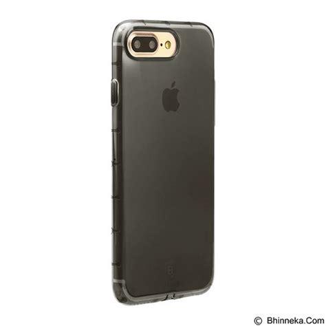 Baseus Simple Shock Proof Tpu For Iphone 7 Plus Transparent jual baseus simple anti shock tpu for apple iphone 7 plus black merchant murah
