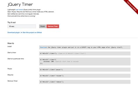 jquery tutorial timer our favorite jquery plugins and libraries for spring 2015