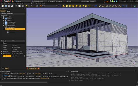 Ubuntu Cad Home Design by Freecad Arch Module How To Yorik S Guestblog