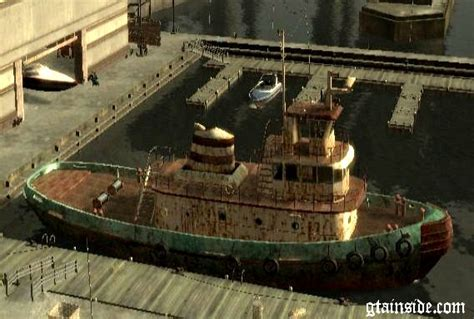 tugboat inside gta 4 realistic rusty tugboat mod gtainside