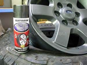 paint your rims with rustoleum wheel spray for sale in