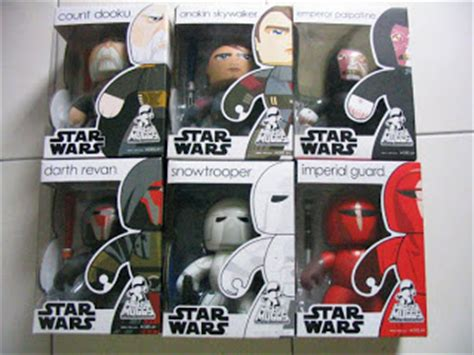 Mighty Muggs Wars Count Dooku imperial guard marvelpg s