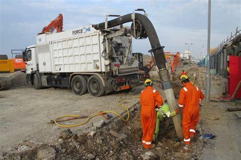 vacuum excavation vacuum excavator guidance in the works