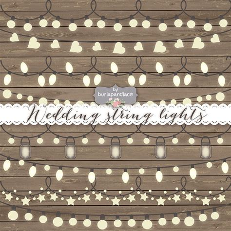 Vector String Lights Illustrations On Creative Market String Lights Clipart