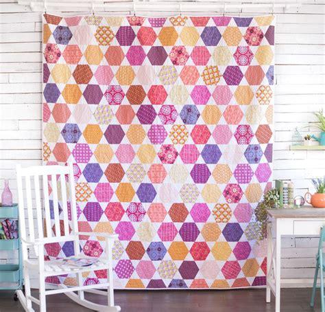 hexagon quilt pattern instructions modern quilt patterns tips for beginners