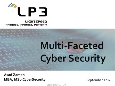 Cyber Security Notes For Mba by Multi Faceted Cyber Security V1