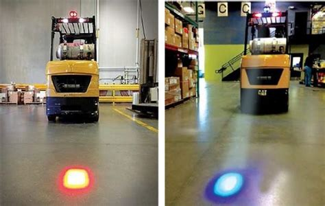 point light vs spotlight xrll blue forklift safety light industrial led point high