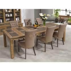table salle 224 manger ch 234 ne massif bois plateau
