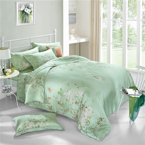 Bed Cover Set Tencel Katun Organik King Size 180x200x40cm svetanya tencel bedding set king size bedlinen soft and luxuries duvet cover sets