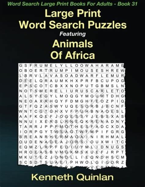 sam s large print word search 51 word search puzzles volume 4 brain stimulating puzzle activities for many hours of entertainment activities for many hours of entertainment books large print word search puzzles featuring animals of