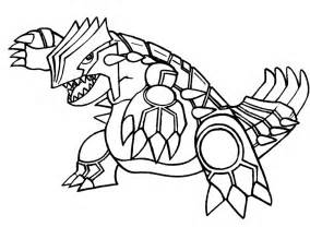 pokemon groudon free coloring pages art coloring pages