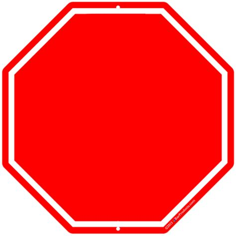 stop sign template blank stop sign clip cliparts co