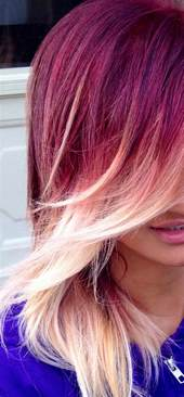 colorful ombre and ombre hair hair colors ideas