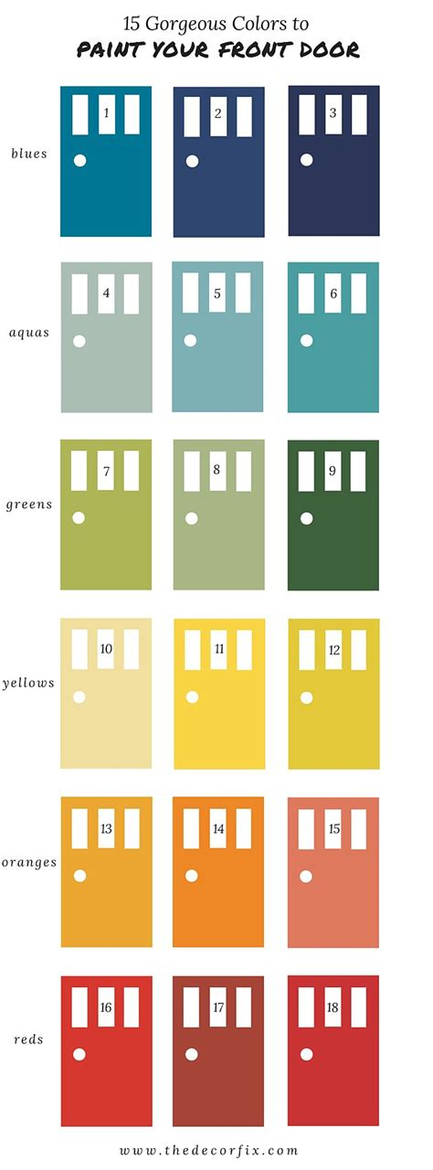 15 paint colors i used in my house the indigo lattice what paint colors to use on your front door popsugar home