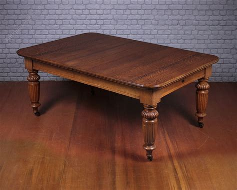 10 Seater Dining Table 10 Seater Extending Oak Dining Table C 1890 Antiques Atlas